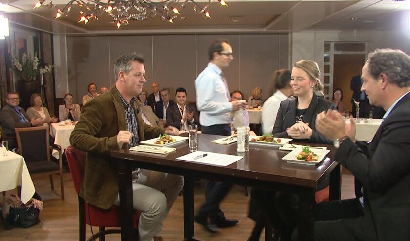Zaterdag is op Peel en Maas TV een nieuwe uitzending van Venray in bedrijf aan tafel te zien. Foto: Audica Video.