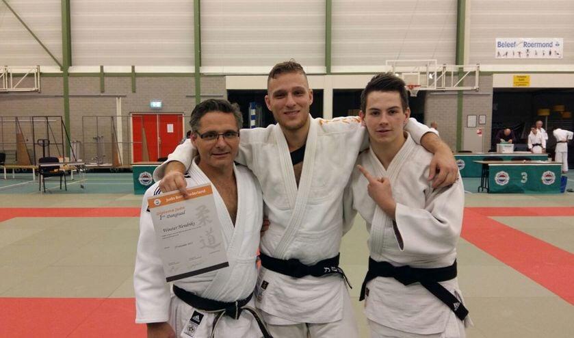 Wouter Hendriks, Mayk Claassen en Rudi Verhagen.