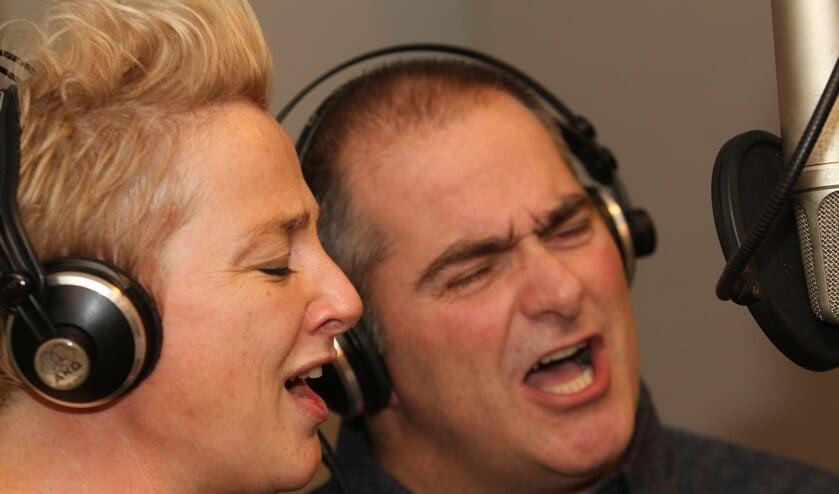 Gerrie en Dave. Foto: Henk Lammen