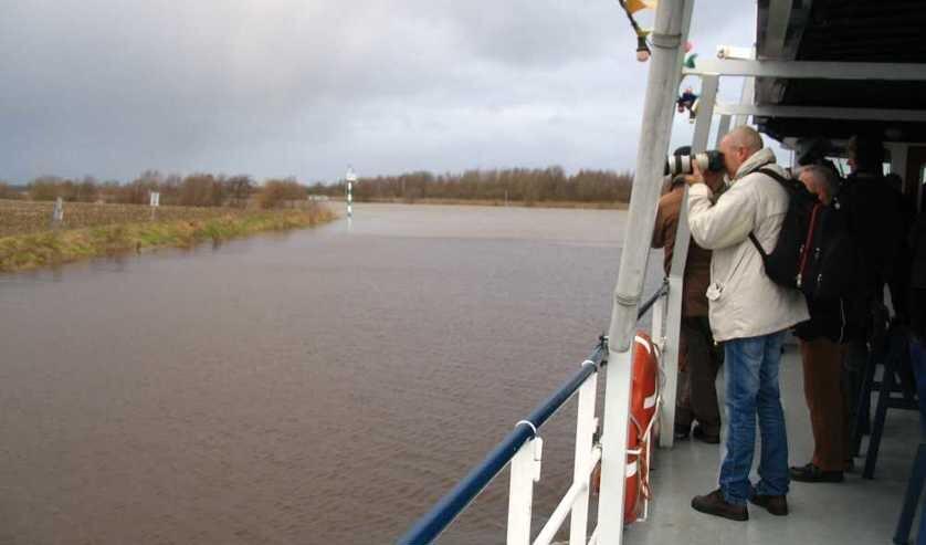 IVN Geijsteren-Venray houdt op 10 januari een boottocht over de Maas.