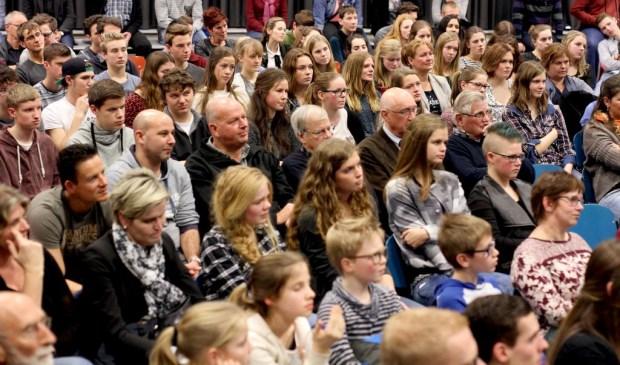 Het Science Symposium trekt jaarlijks veel belangstellenden.   © Peel en Maas Venray
