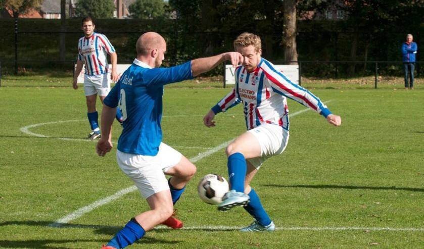 SVOC'01 was zondag te sterk voor SV United. Foto: Lotte Kamphuis.