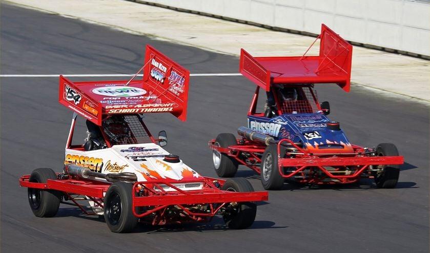 De klasse Stockcar F2 junioren komt zondag op Raceway Venray in actie.