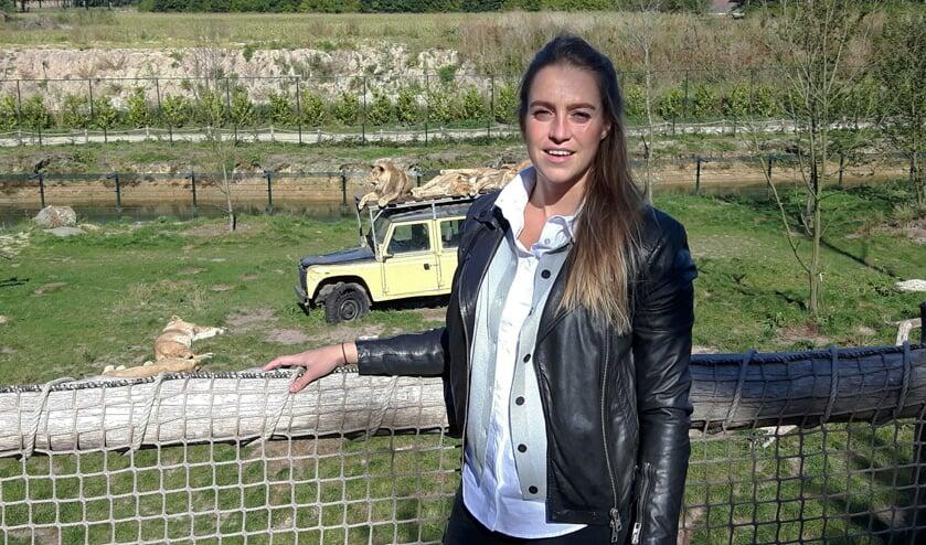 Leentje Lips is de nieuwe vestigingsmanager van ZooParc Overloon.