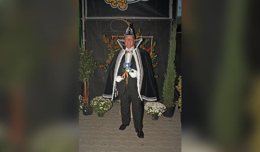 Peter Zegers is uitgeroepen tot jubileumprins van De Wiendbuul in Wanssum.