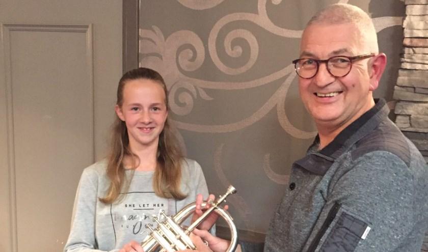 St. Oda uit Merselo is blij met de nieuwe instrumenten.
