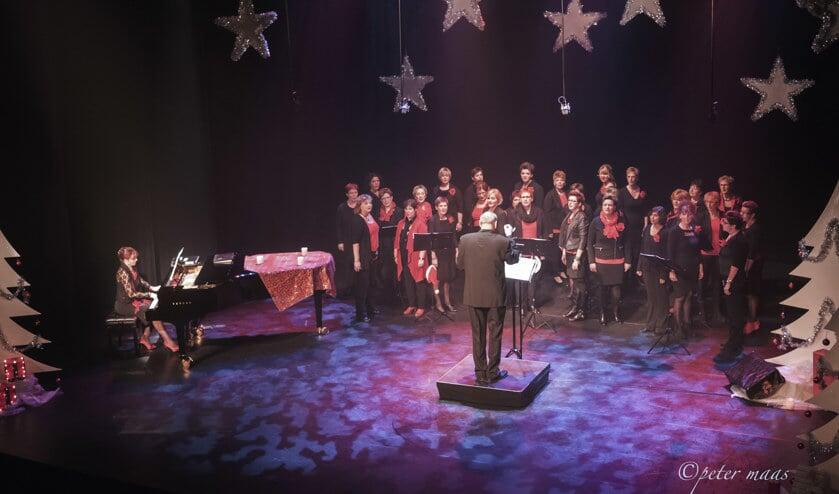 Koor Harmony houdt op 11 december zijn kerstconcert. Foto: Peter Maas.