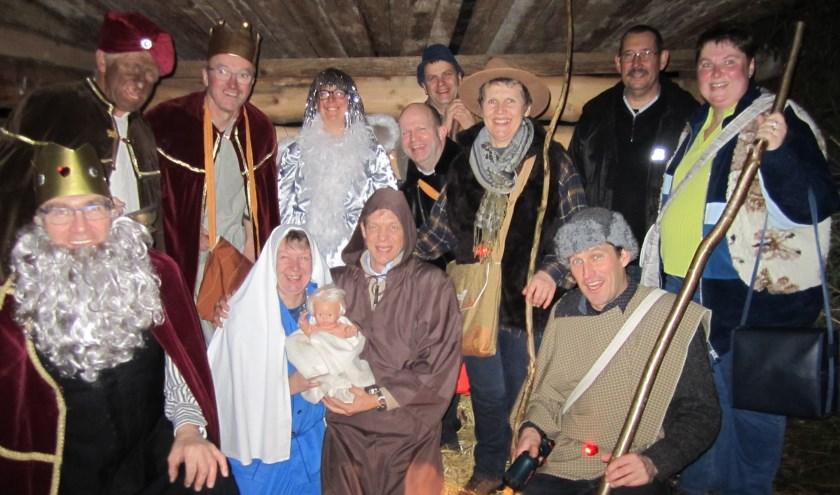 In Vredepeel wordt op zondag 18 december het kerstverhaal op een bijzondere manier opgevoerd.
