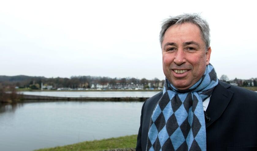 Patrick van der Broeck neemt vrijdag afscheid als gedeputeerde van de provincie Limburg. Foto: Henk Lammen.