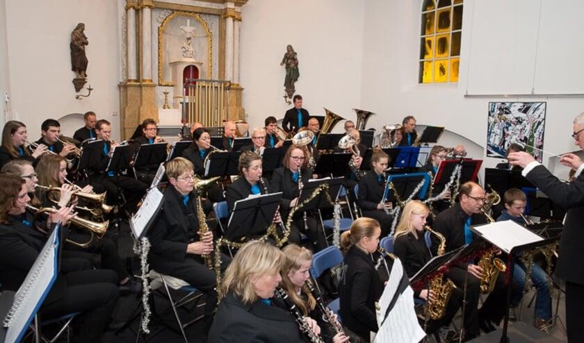 Muziekvereniging Holthees-Smakt verzorgt ook dit jaar weer een kerstconcert.