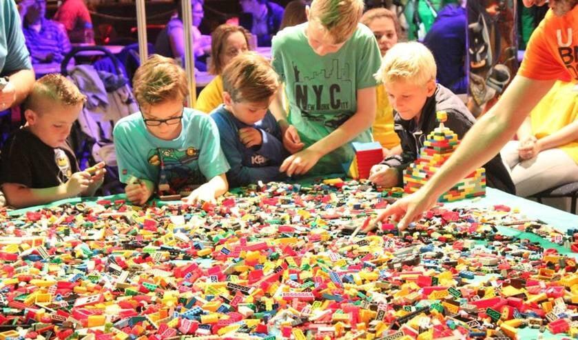 Evenementenhal staat komend weekend in het teken van het Legofestijn Bouwblokjes.