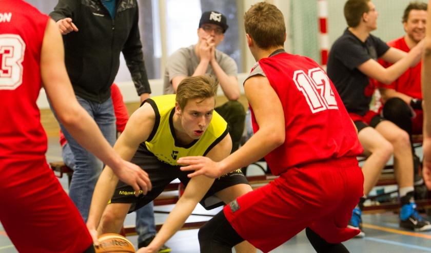 Peter Hoeijmakers scoorde zaterdag achttien punten.