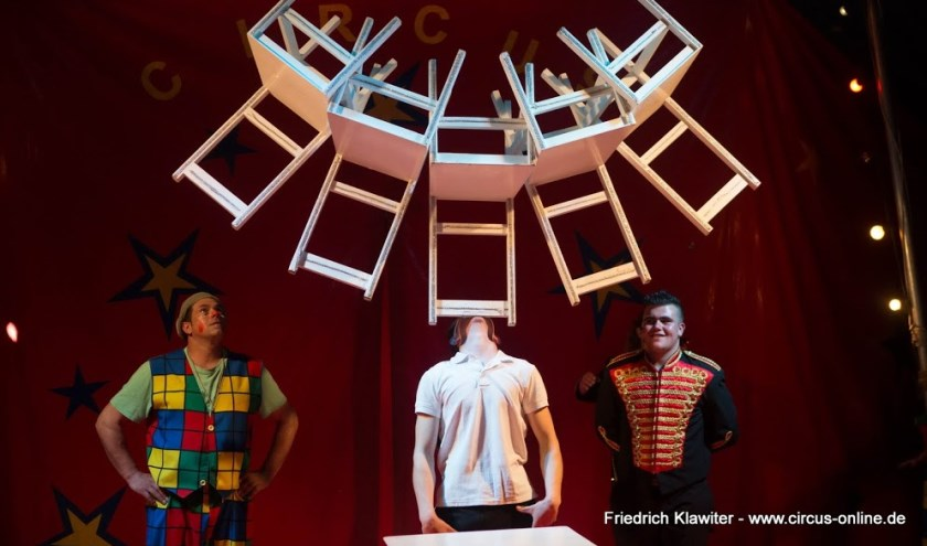 Familiecircus Bossle heeft zijn tenten opgeslagen in Venray. Foto: Friedrich Klawiter, www.circus-online.de.