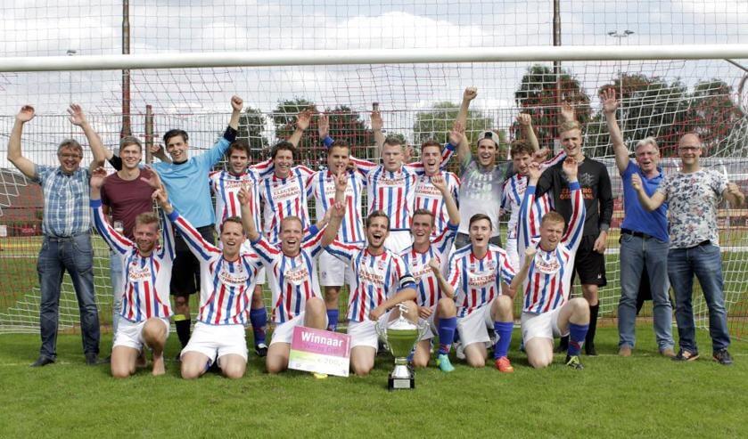 SVOC'01 won zondag de Venray Cup.  Foto: Yvon van Horck.
