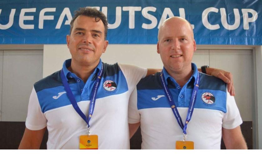 Jos van Gerven (links) en Frank Brands.