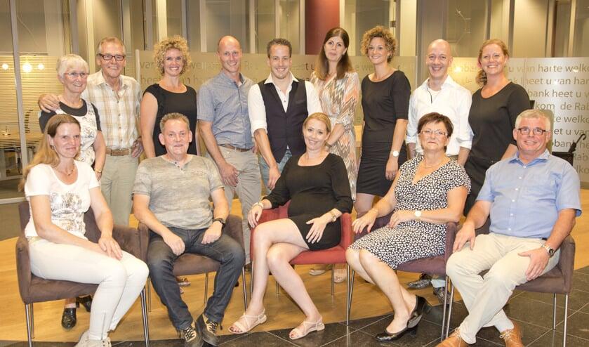 De genomineerden voor de Venrayse ondernemersprijzen. Foto Dom Melskens
