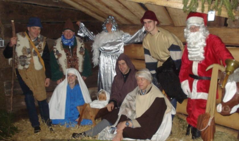 Het kerstverhaal staat centraal tijdens de wandeling in Vredepeel.