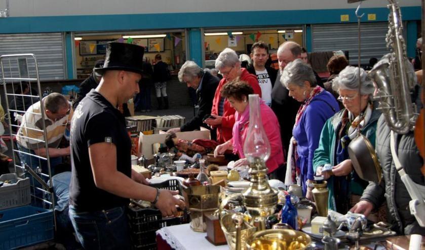 In Evenementenhal Venray vindt op zondag 12 februari een zwarte markt plaats.