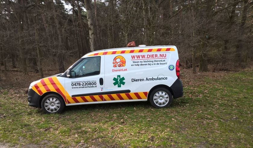 Dierenambulance Noordelijk Limburg zoekt vrijwilligers.