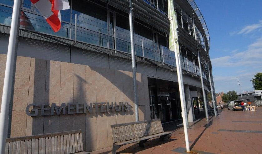 <p>Het gemeentehuis van Boxmeer.&nbsp;</p>