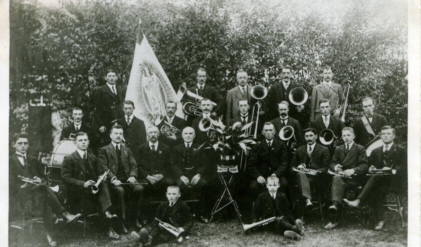 Foto: Fanfare in 1917.