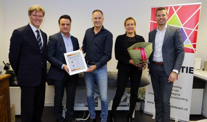 Hét Preventie Team is uitgeroepen tot Starter van het derde kwartaal 2018. Foto: Rikus ten Brücke.
