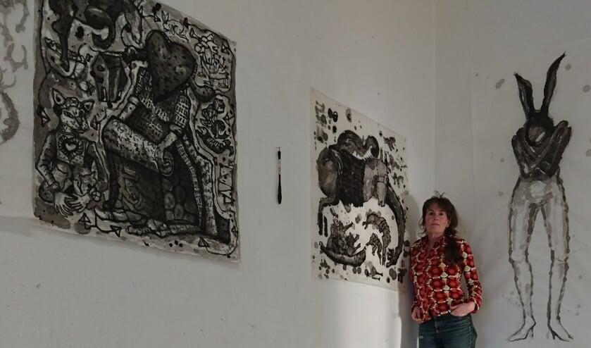 Jacqueline Hanssen exposeert in Schouwburg Venray.