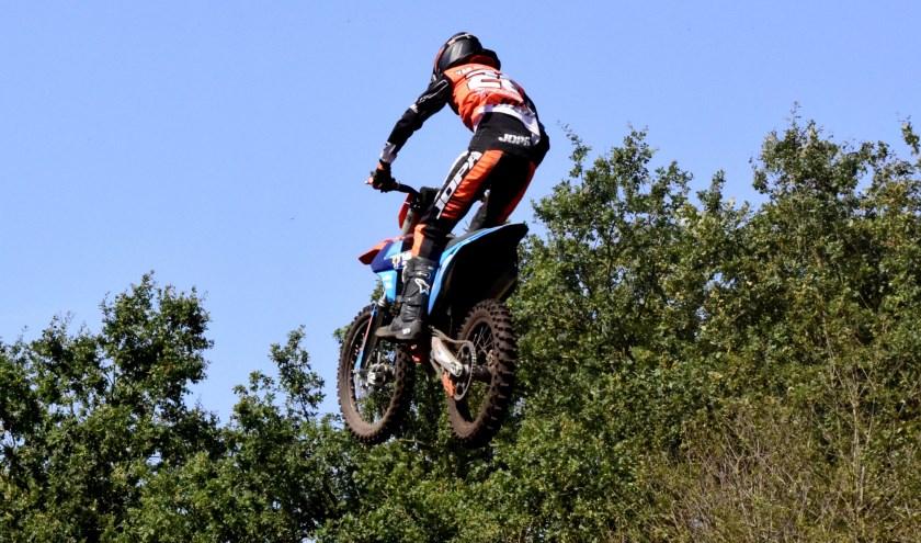 Joey van der Zanden reed een sterke wedstrijd in Boekel met als resultaat een vierde plaats. Foto: Maycel de Bruijn