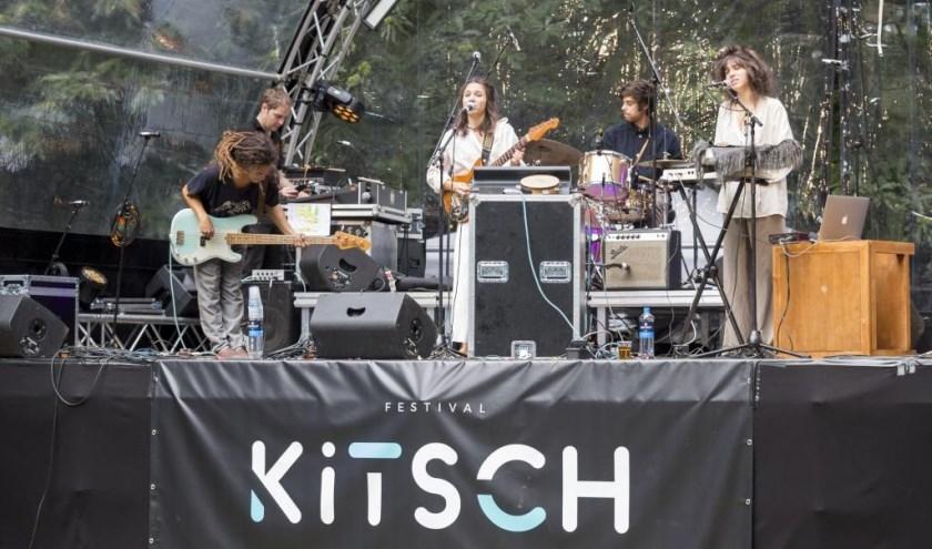 Het festival Kitsch is in volle gang in Odapark Venray. Foto: Jolijn van Goch