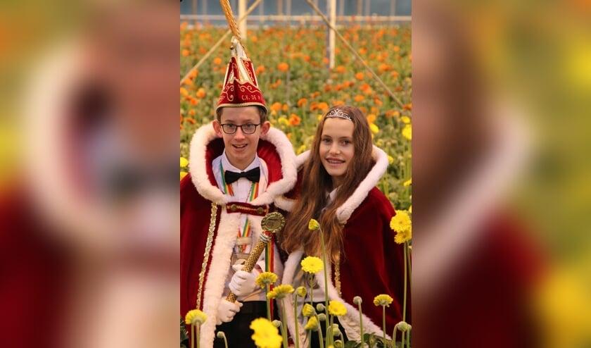 Het prinselijk jeugdpaar van De Ruuk in Blitterswijck.