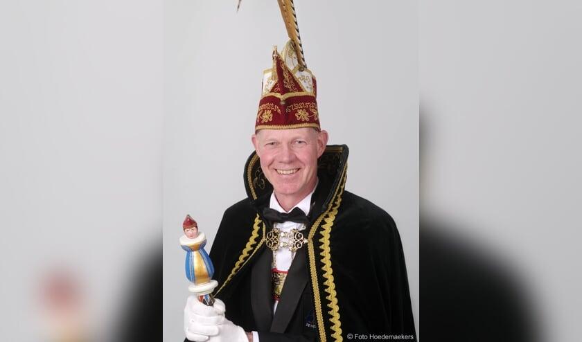 Prins Jos Pouwels van Hedsbuülen. Foto Hoedemaekers.