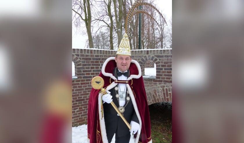 Marco Wijnands is uitgeroepen tot prins van De Ruuk in Blitterswijck.