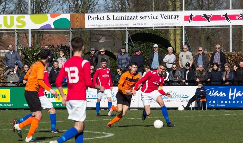 Archieffoto duel  Venray en Wittenhorst.