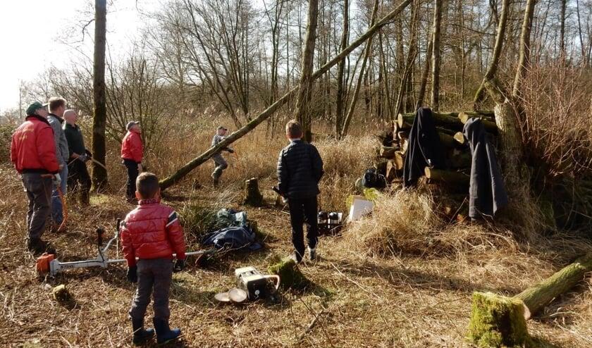 IVN Geijsteren-Venray houdt op 12 oktober een natuurwerkdag.