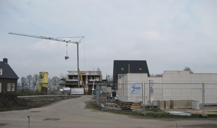Woningbouw in de gemeente Venray.