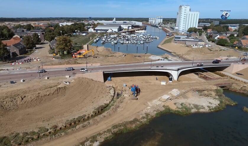 De werkzaamheden voor het project Ooijen-Wanssum zijn in volle gang.