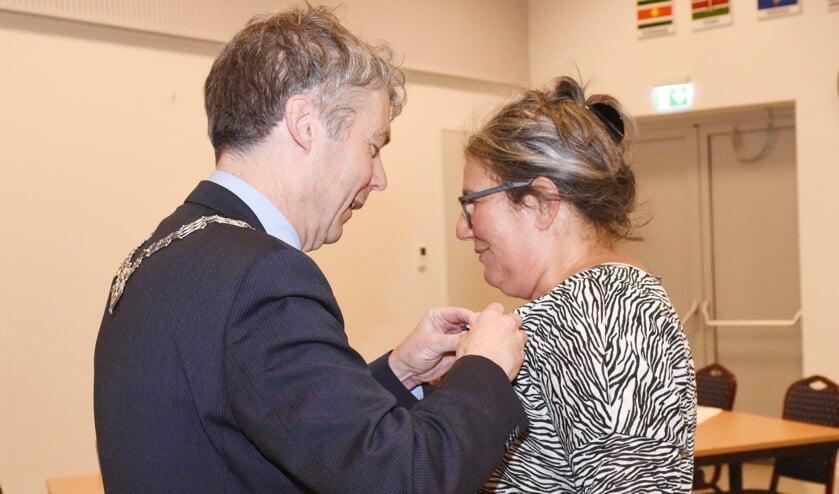 Petra van Duijnhoven is maandagavond koninklijk onderscheiden.