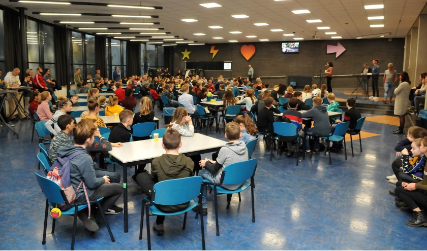 718 leerlingen uit groep 7 en 8 namen deel aan de kennismakingsdagen op het Raayland College