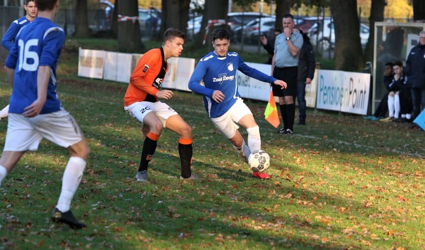 Venray ging zondag nipt onderuit tegen Venlosche Boys: 3-2.