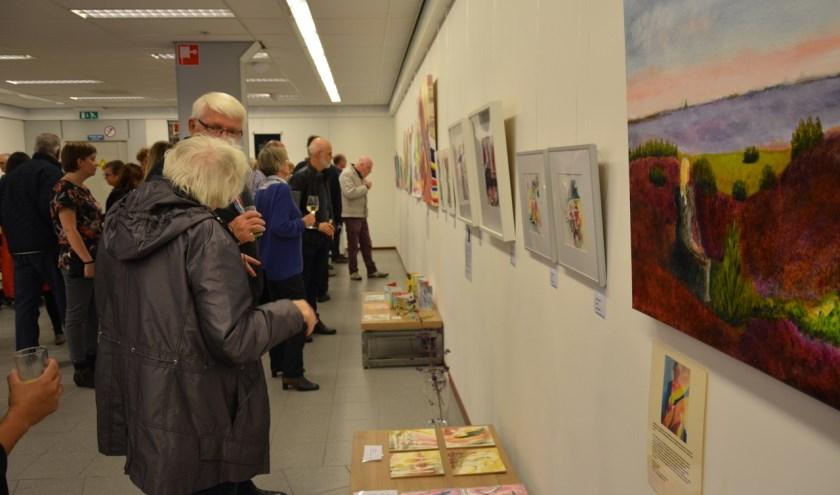 Foto gemaakt tijdens de officiële opening van de expositie WADT op vrijdag 4 oktober.