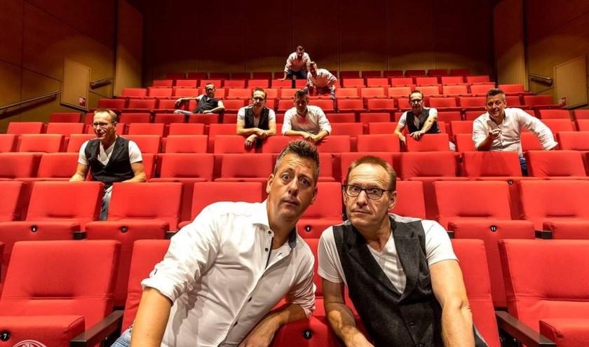 Foto: Rob van Lieshout (links) en Henk Deters starten op 20 januari 2020 met een nieuwe editie van PodiumCollege.