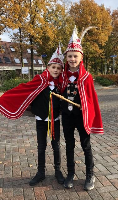 Prins Rik I en adjudant Stijn.