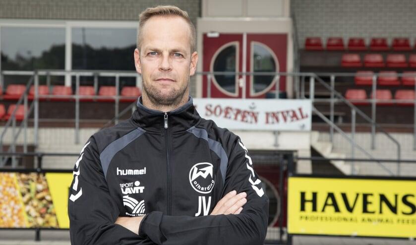 Johan Vullings heeft zijn contract met Volharding met een jaar verlengd.
