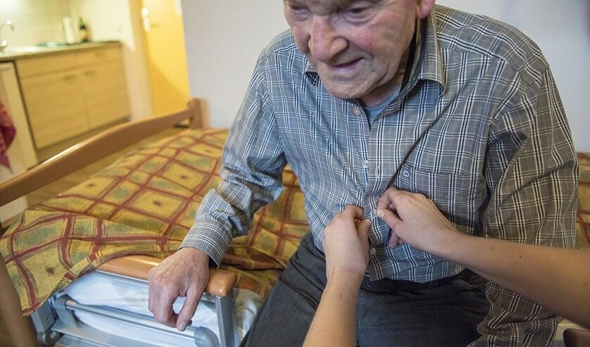 Ouderenzorg heeft behoefte aan hulp bij alle dagelijkse levensverrichtingen