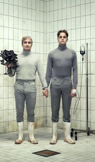 Rundfunk presenteert de try-outvoorstelling Todesangstschrei in het Venrayse theater.