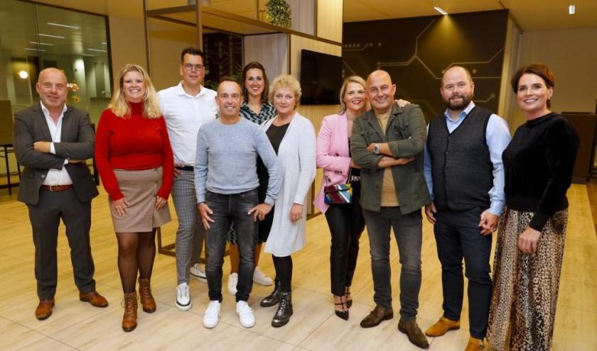 De genomineerden voor de Venrayse  ondernemersprijzen.