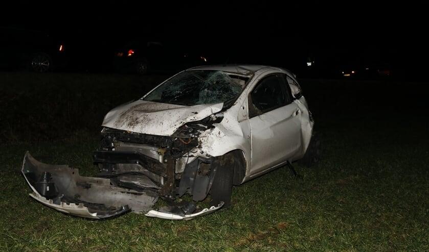 De auto is total loss.