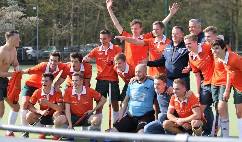 De Venrayse hockeyers zijn opnieuw genomineerd voor Sportploeg van het jaar.