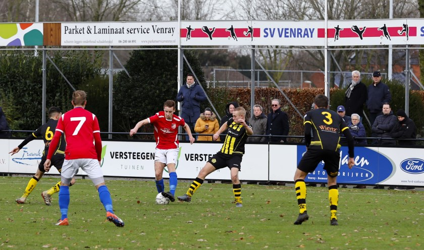 SV Venray was zondag op eigen veld te sterk voor De Ster.