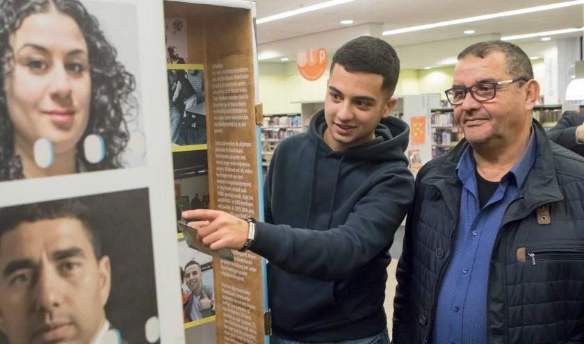 In de bibliotheek in Venray is een expositie te bekijken over 50 jaar Marokkaanse migratie.